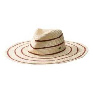 O'Neill equator straw hat, beach, two tone
